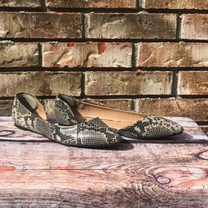 A New Day Snake Skin Flats